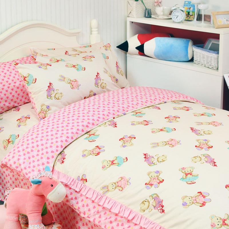 Kids Toddler Baby Cot Duvet Cover Set with Pillowcase Owl Duvet Cover Sets