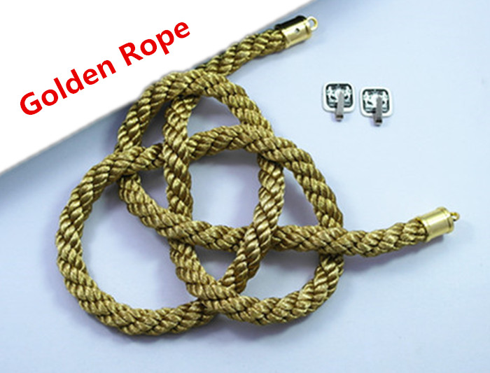 Jiannavip 1Set Lucky Chinese Auspicious JP Golden Kin Rope Kiku Knot for Car Rearview Mirror Charms Ornaments Gold/&White