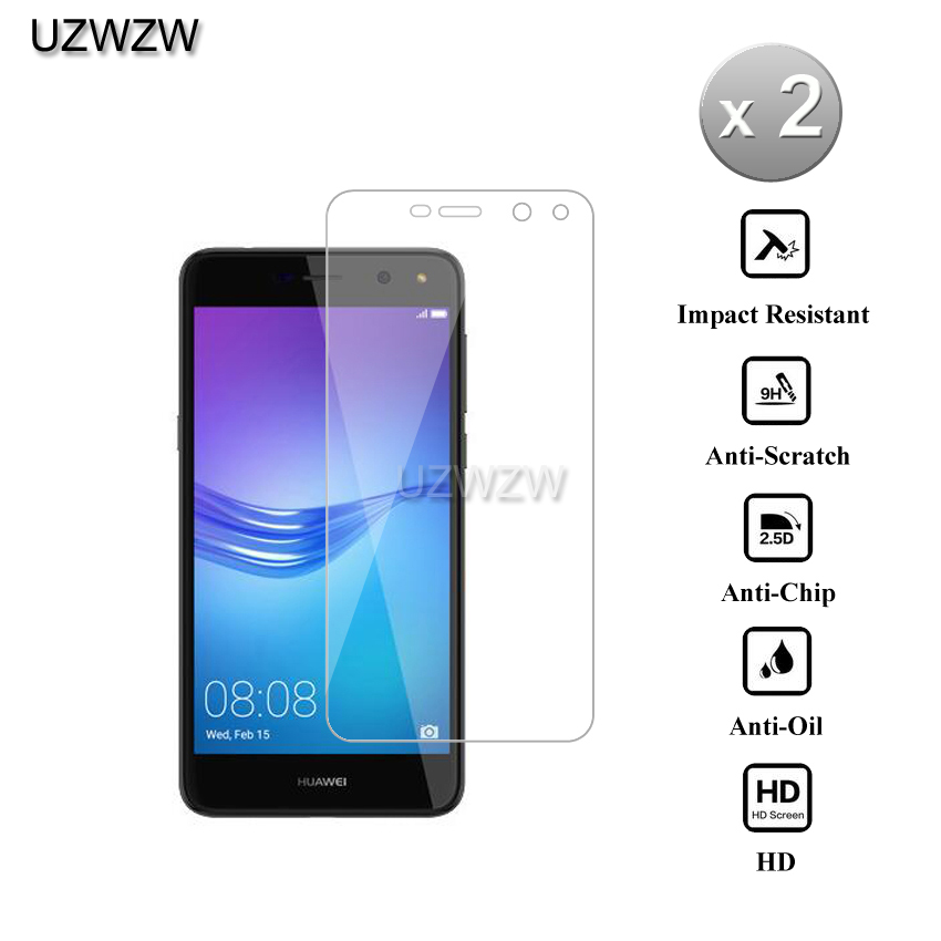 2pcs 9H 0.26mm Premium <font><b>Tempered</b></font> <font><b>Glass</b></font> For <font><b>Huawei</b></font> <font><b>Y6</b></font> <font><b>2017</b></font> 5.0 inch Screen Protector Film For <font><b>Huawei</b></font> <font><b>Y6</b></font> <font><b>2017</b></font> <font><b>Tempered</b></font> <font><b>Glass</b></font> image