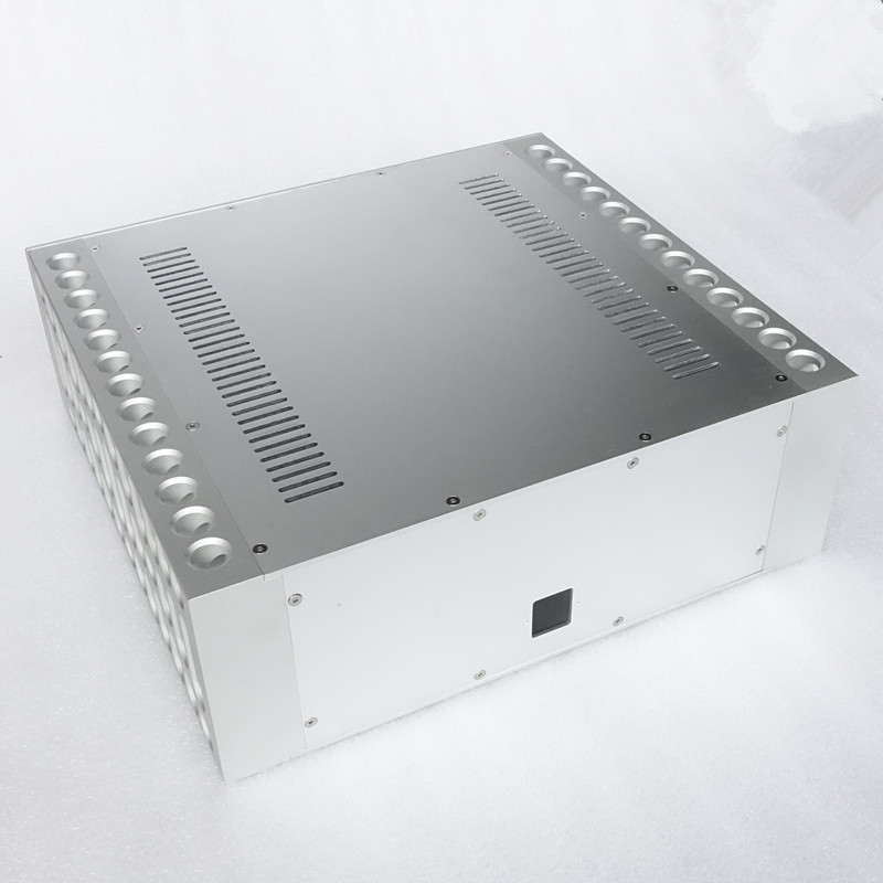 BZ4315D Imitate BOLDER style percision work CNC power amplifier aluminum chassis box 430mm*150mm*410mmBZ4315D Imitate BOLDER style percision work CNC power amplifier aluminum chassis box 430mm*150mm*410mm