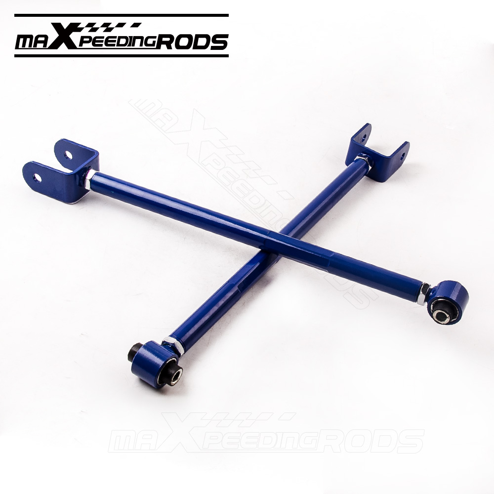 Rear Suspension Camber Control Arm Arms for BMW E36 E46 318/323/325/328/330 M3 318i 323i 325i 328i M3 Rear Left & Right Lower for bmw 3 series e36 318 328 323 325 front coilover strut camber plate top mount green drift front domlager top upper mount