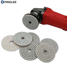 5pcs/lot 3inch/80mm Granite,marble,Concrete Ceramic Wet Diamond polishing pads
