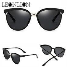 LeonLion Candies Brand Designer Cat Eye Sunglasses Women Luxury Plastic Sun Glasses Classic Retro Outdoor Oculos De Sol Gafas