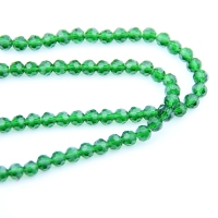 8 10mm Grass Green Crystal Balls Flet (720 1440pcs) 32 Faceted Glass Football Cut Beads In Crafts For Home Decoration DIY