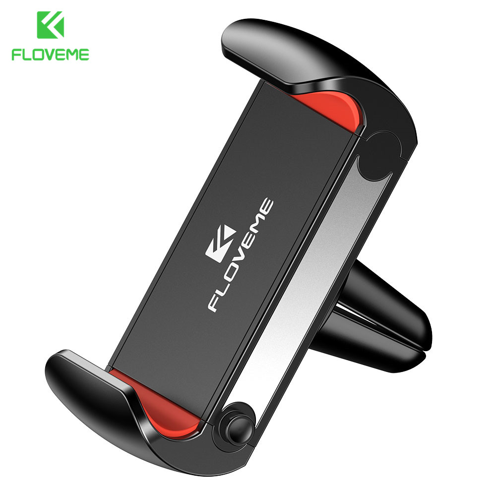 FLOVEME Car Phone Holder For IPhone 8 7 8 Plus XS XR X Air Vent Mount Phone Holder Stand For Samsung Note 9 8 S9 Plus S9 S8 S7
