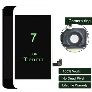 Image 1 - 10 шт. ЖК дисплей премиум класса для iphone 7, сенсорный экран Tianma с 3D сенсорным экраном для iphone, ЖК дигитайзер 7G в сборе, 4,7 дюйма