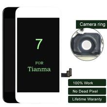 10PCS פרימיום עבור iphone 7 LCD תצוגה עבור Tianma מגע מסך עם 3D מגע עבור iphone LCD Digitizer 7G הרכבה 4.7 אינץ