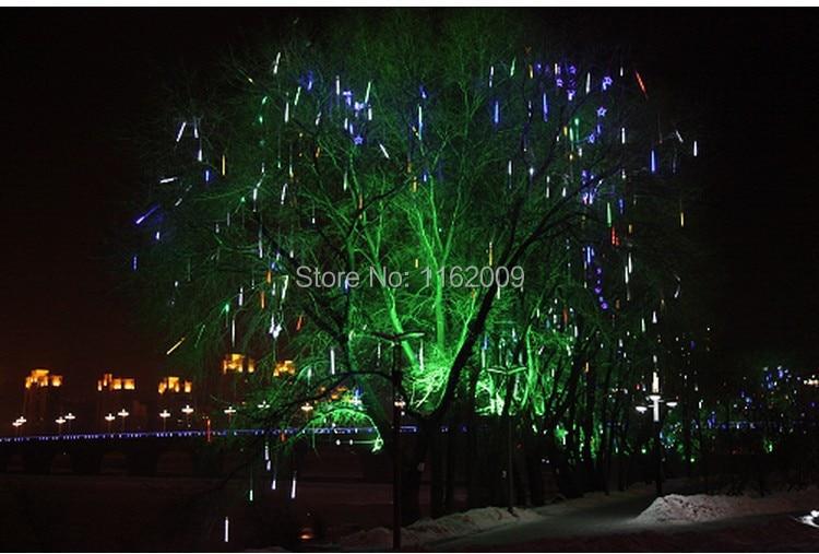 10pc/set 3528 50cm 600 Led Meteor Shower Rain Tubes Led Light For Party Wedding Decoration Christmas Holiday Led Meteor Light