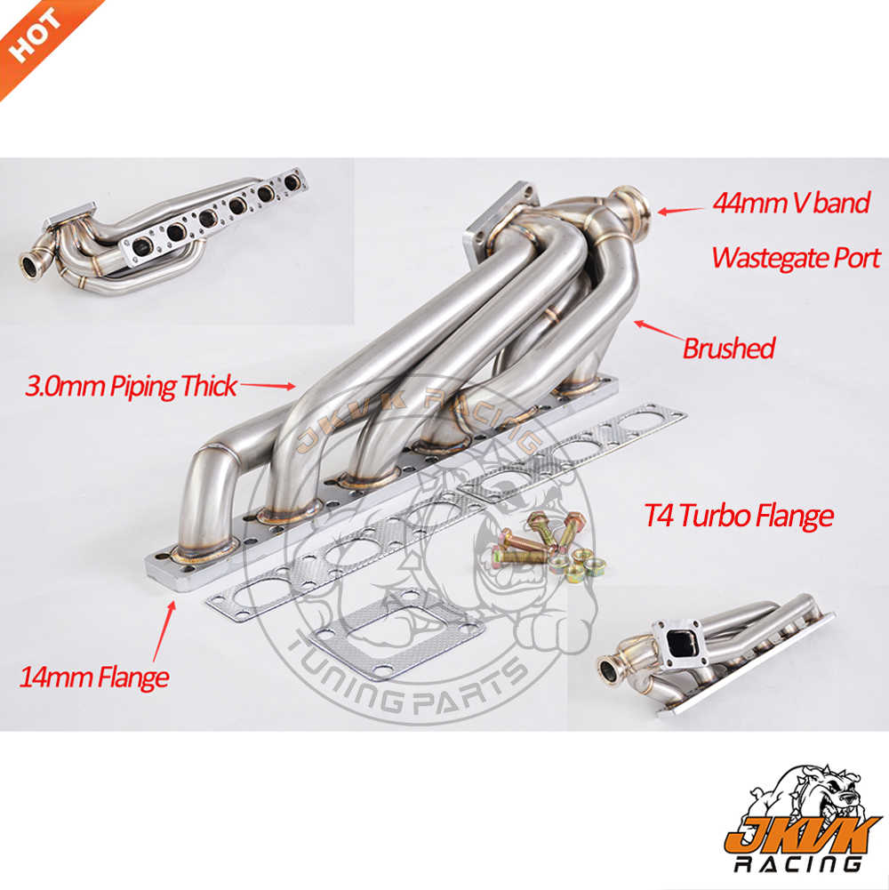 3 0mm thick Top mount Turbo manifold M50 M52 M54 S50 S52 for