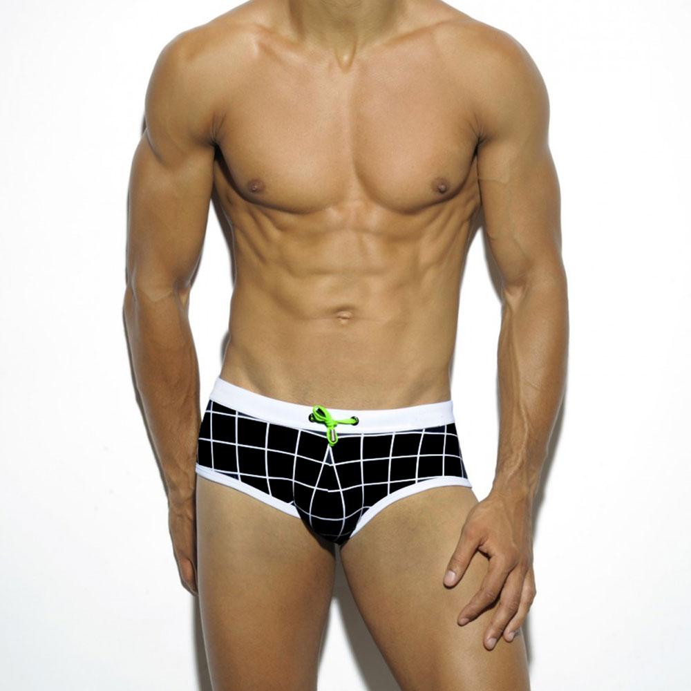 7983dc2ee94df Swim Briefs Sexy Gay Swimwear Zwembroek Heren Sunga masculina Swimsuits men  swimming Trunks Boxers maillot de bain homme mens