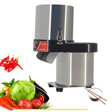Commercial Vegetable Slicing Shredder Stainless Steel Shredding Machine Professional Chopper 220V 400W 1PC