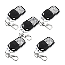 5piece Wireless Remote Control Controller Keyfobs Keychain 433MHz PT2262 4.7M worh with Home Office Alarm System free shipping 1 pcs lot new classic wireless metal remote control controller keyfobs keychain 433mhz just for our alarm system