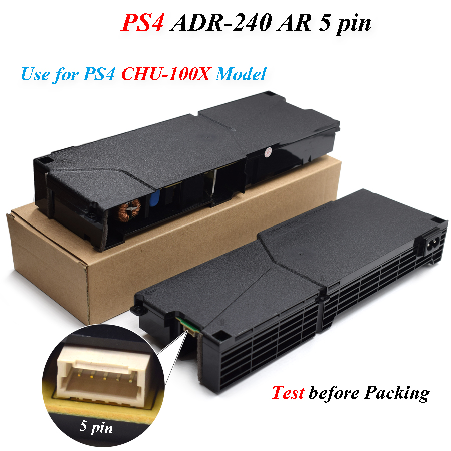 PS4 100% Original Replacement Repair Parts Power Supply Adapter ADP-240AR ADP 240AR for Playstation 4 PS4 Console image