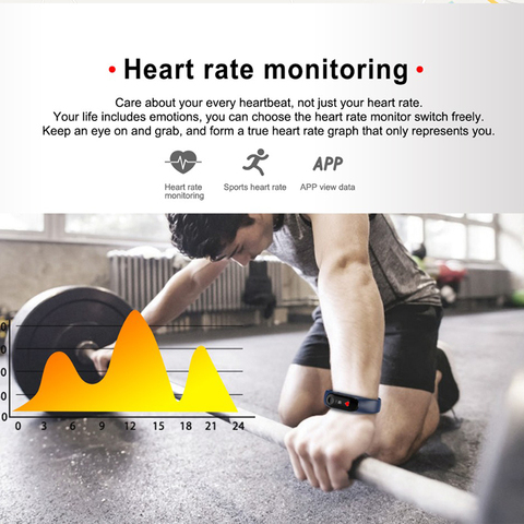 Smart Electronics Watch M3 Plus Color Screen Wristband Heart Rate Activity Fitness Tracker Smart Electronic Smart Watches Lahore