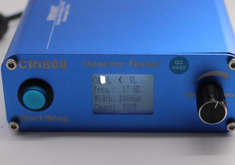 Cri808 common rail injector tester c