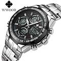 Brand WWOOR Sport Men's watches Digital watch men quartz watch orologio uomo men relogio masculino Digital-watch