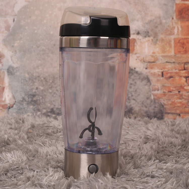 24pcs/lot Electric Protein Shaker Blender Mixing Coffee Cup Continental Cup Lazy Self Automatic Stirring Mug Water Bottle