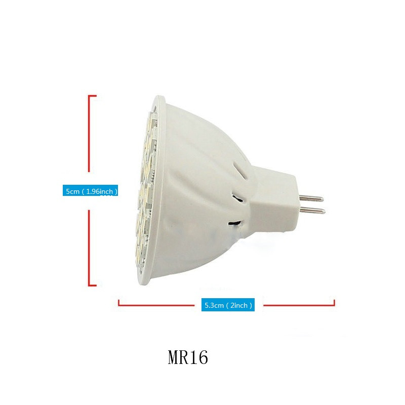 LED bulbs GU10 MR16 interface Dimmable LED Spotlight Cool white warm white 5W DC12V Corn Bulb 1pc 8 13 in LED Bulbs Tubes from Lights Lighting