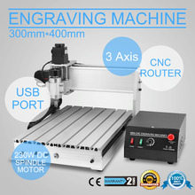 3 ASSI MACCHINA PER INCISIONI CNC ROUTER USB FRESATRICE FRESATURA CUTTING MACHINE
