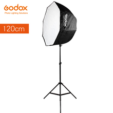 Godox 120cm 47.2in Portable Octagon Softbox Umbrella Brolly Reflector for Studio Strobe Speedlight Flash