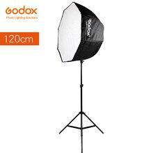 Godox переносной восьмиугольный зонт для софтбокса, 120 см, 47,2 дюйма, отражатель Brolly для студийной вспышки