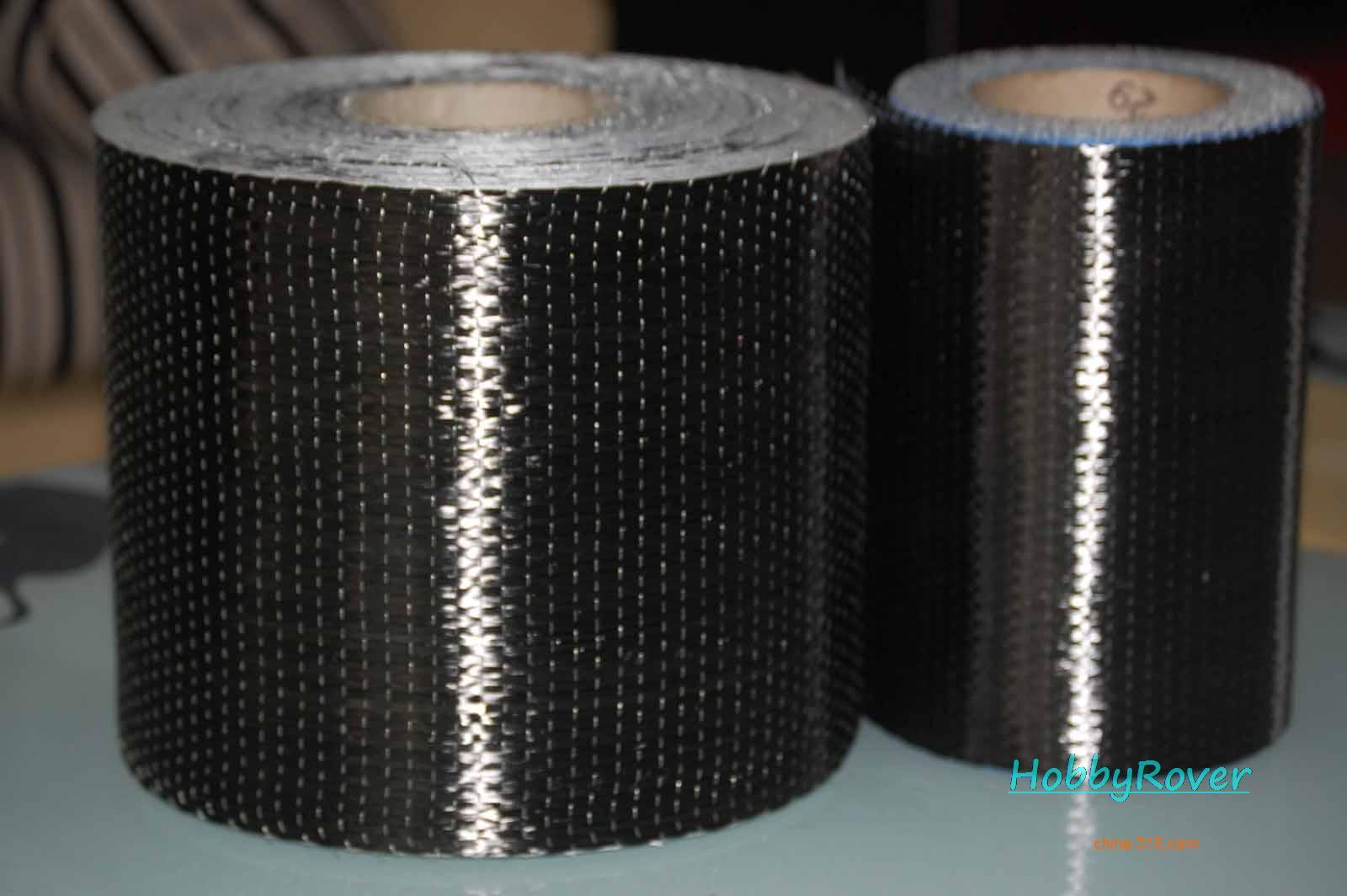 """[Gradul A 4.2Gpa] Lățimea de 10cm / 4 """"200gsm T700 Fibră de carbon 12k UD Stofă de unică folosință din material textil Material de înaltă rezistență Material de reparare"""