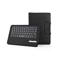 Detachable Wireless Bluetooth Keyboard Folio Slim PU Leather Case Cover For Samsung Galaxy Tab E 8.0 SM T377 T377 T377V Tablet