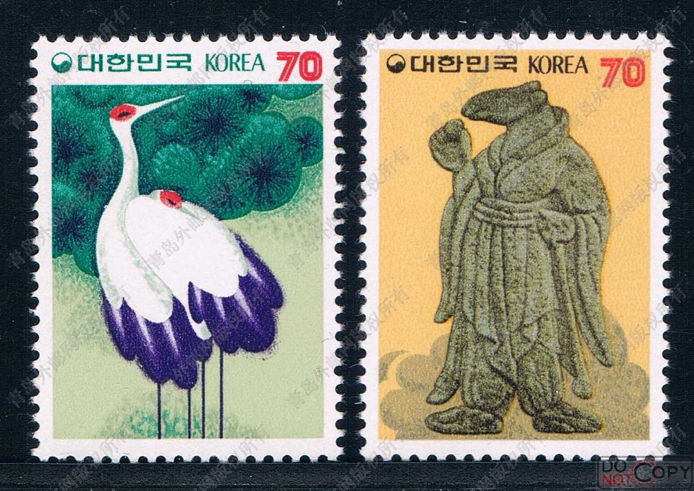 1983 Korea KR0756 China rat Zodiac stamps 2 new 0209 years crane робот zodiac ov3400