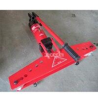 ماكينة ثني الأنابيب المتكاملة 2 بوصة من XP-SWGA4 أداة ثني الأنابيب الهيدروليكية اليدوية ماكينة ثني الأنابيب الصغيرة المحمولة 22-60 مللي متر