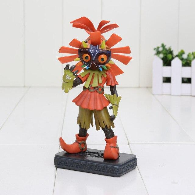 14 cm la leyenda de la máscara de Zelda Majora 3D Skull Kid PVC ...