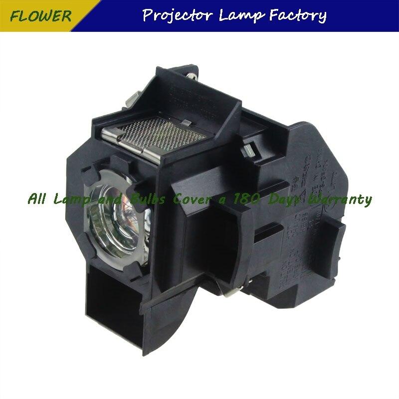 עופרות ELPLP34 V13H010L34 מותג חדש מקרן Bare מנורה עם דיור ForEPSON EMP-62 / EMP-62C / EMP-63 / EMP-76C / EMP-82 / EMP-X3 (4)