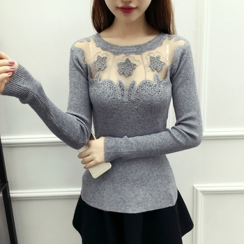 cashmere wool knitted pullover women sweater
