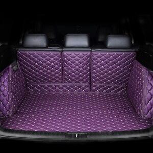 Image 5 - Коврик для багажника автомобиля kalaisike под заказ для Mercedes Benz все модели C ML GLA GLE GL CLA R A B GLS GLC класс автомобильные аксессуары Стайлинг
