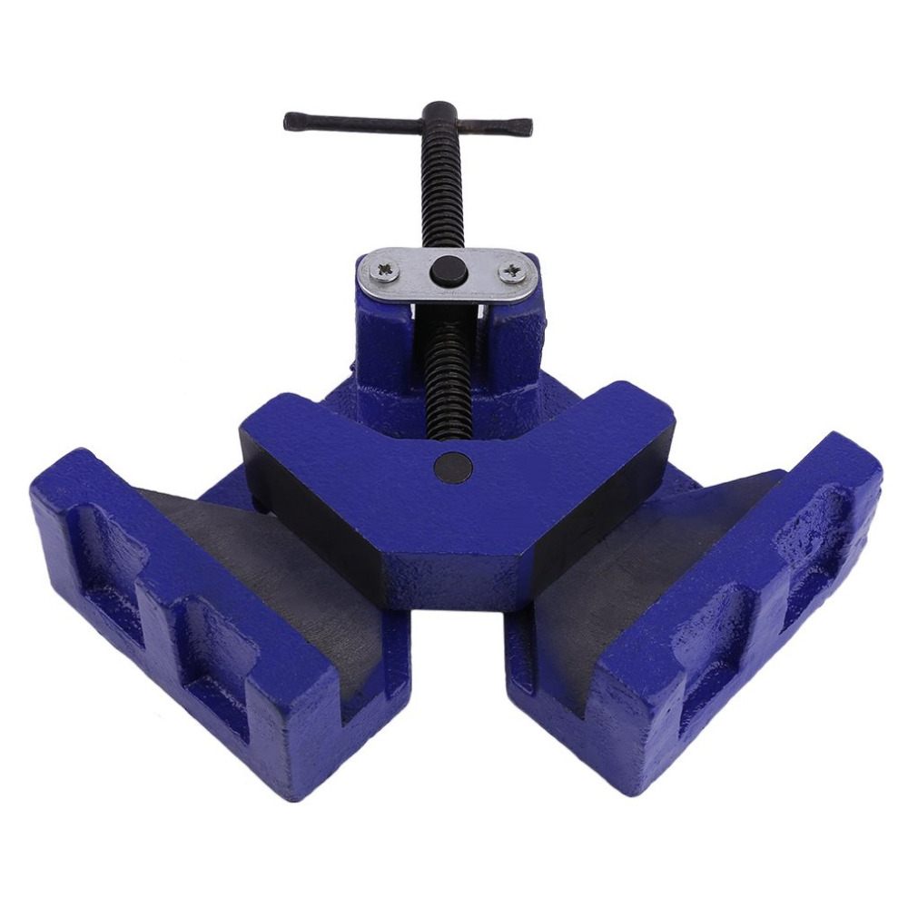 Angle Vise 100mm DIY Home Handle Tool Angle Clamp Vice Miter Welding Angle Workbench Craft Fixed Repair Tool Ship From DE corner clamp angle vise 90 angle great diy home handle tool 100% aluminum alloy corner clamp workbench