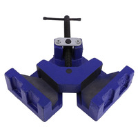 Angle Vise 100mm DIY Home Handle Tool Angle Clamp Vice Miter Welding Angle Workbench Craft Fixed Repair Tool Ship From DE