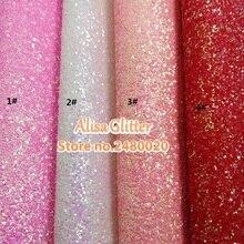 1 шт. 21X29 см от бренда Alisa, блеск ворсистый блестящий материал из искусственной кожи ткани для лук DIY обои D04