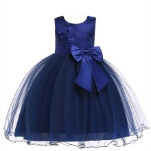 Girls Wedding Dress New Summer Princess Baby Girl Clothes Children Party Kids