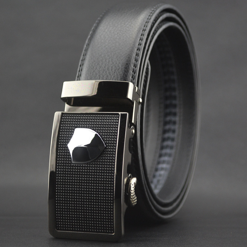 Mens Belts Business Buckle Business Leather Waist Strap Belts Buckle Belts Gifts