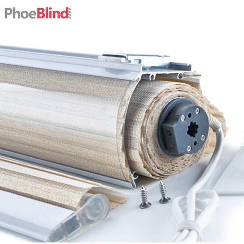 AC power or rechargeable Tubular motor for roller blinds zebra roller blinds