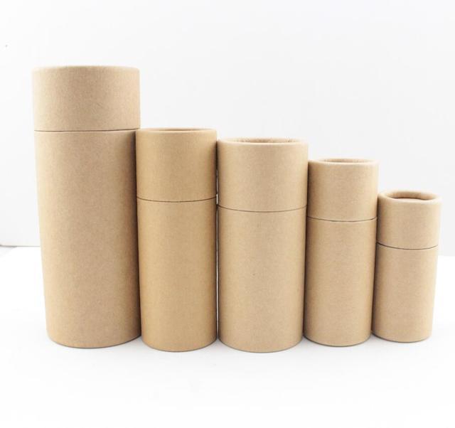 Inner Height 13.5cm And Inner Diameter 4.8cm,Paper Jar