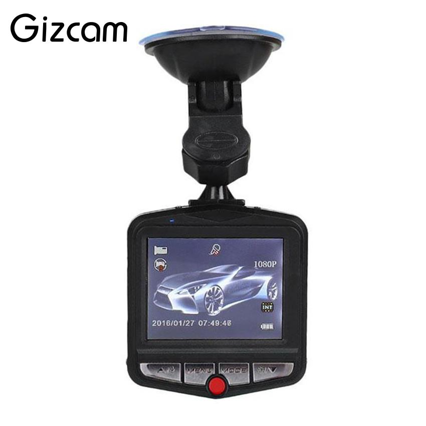 Gizcam 1 Set Full HD 480P 30fps Video Camera 2.4 LCD Car DVR Dashcam G-Sensor IR Night Vision Mini Cam Camcorder