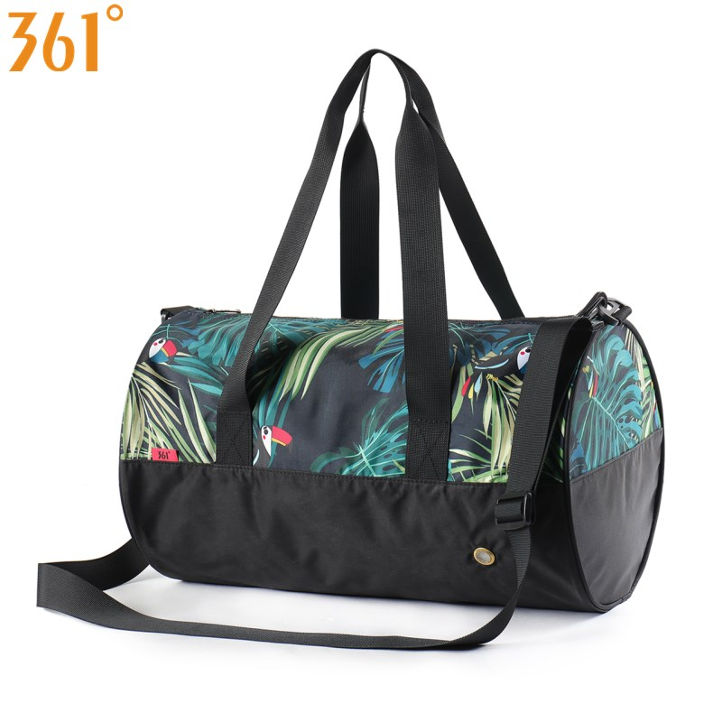361 Sport Bag Fitness Gym Bag Waterproof Swimming Bags  With Shoes Compartment Shoulder 25L Combo Dry Wet Pool Beach Men Women
