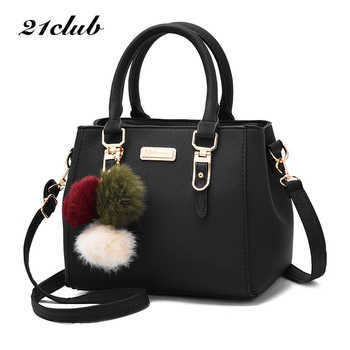 21club brand women hairball ornaments totes solid sequined handbag hotsale party purse ladies messenger crossbody shoulder bags - DISCOUNT ITEM  25% OFF All Category