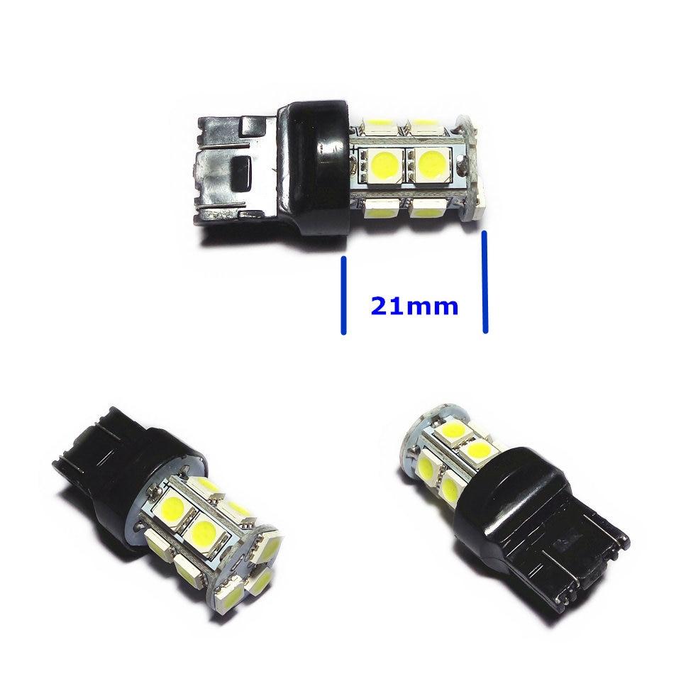 12V LED (13 * 5050SMD) лампа за кола крушка W21 / 5W - Автомобилни светлини - Снимка 4