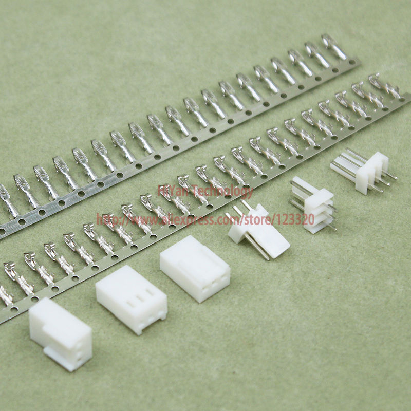 (100sets/lot) connector KF2510 2510 3Pin Pitch:2.54MM 0.1inch Pin Header + Terminal + Housing KF2510-3P