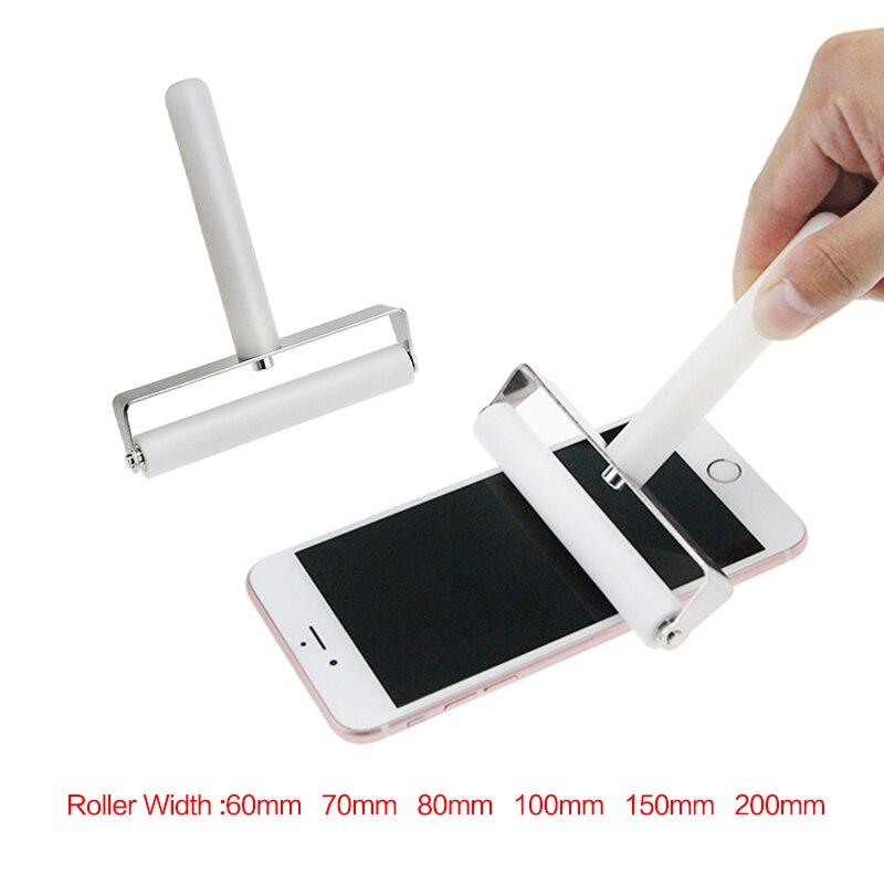 60/70/80/100/150/200 мм силиконовый ролик инструмент для мобильного телефона Планшеты ноутбука Экран протектор Плёнка вставки ЖК-дисплей ОСА поляри…