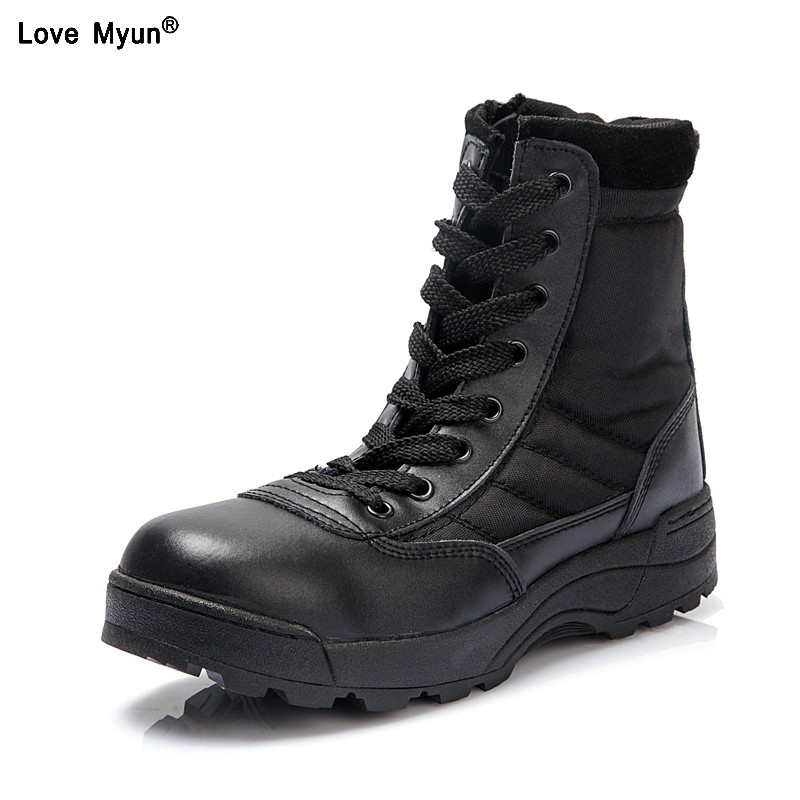 Nouveau us Militaire en cuir bottes pour hommes Combat bot D'infanterie tactique bottes askeri armée bots armée chaussures erkek ayakkabi 558
