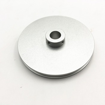 Japanse type Aluminium Misumi ronde riemschijf met Set Schroeven spindel motor drive riem wiel Voor 6mm Riem