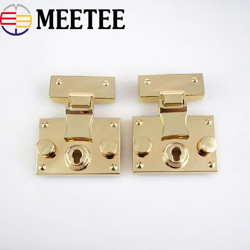 Bag Parts & Accessories 1 Pc Fashion Hardware Purse Twist Lock Metal For Bag Handbag Turn Locks Diy Handmade Bag Clasp High Quality Bag Lock And To Have A Long Life.