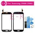 Alta qualidade para Samsung Galaxy grande DUOS i9080 i9082 Touch Screen digitador lente de vidro branco + ferramentas